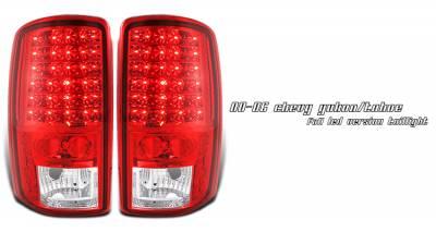 OptionRacing - GMC Yukon Option Racing LED Taillight - 17-19246