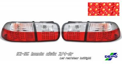 OptionRacing - Honda Civic Option Racing Taillight - 17-20263