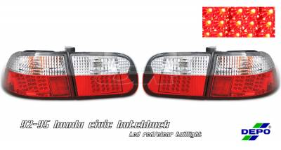 OptionRacing - Honda Civic Option Racing Taillight - 17-20265