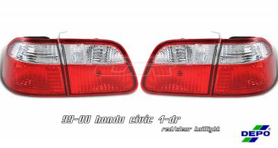 OptionRacing - Honda Civic Option Racing Taillight - 17-20267