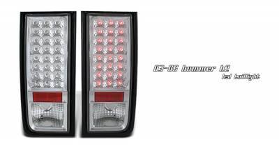 OptionRacing - Hummer H2 Option Racing LED Taillight - 17-21275
