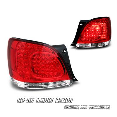 OptionRacing - Lexus GS Option Racing LED Taillight - 17-29281