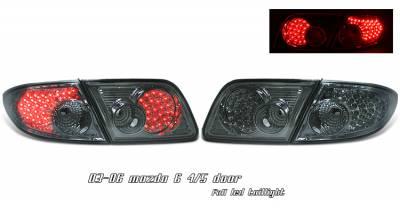 OptionRacing - Mazda 6 Option Racing LED Taillight - 17-31297