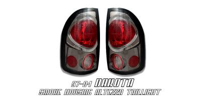 OptionRacing - Dodge Dakota Option Racing Altezza Taillight - 18-17115