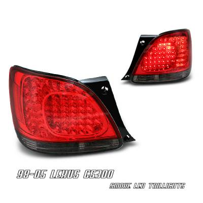 OptionRacing - Lexus GS Option Racing LED Taillight - 18-29147