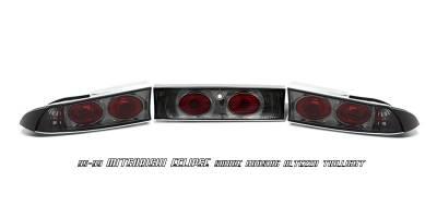 OptionRacing - Mitsubishi Eclipse Option Racing Altezza Taillight - 18-35152