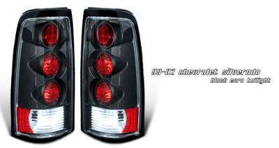 OptionRacing - Chevrolet Silverado Option Racing Altezza Taillight - 19-15108