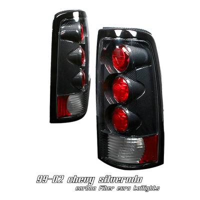 OptionRacing - Chevrolet Silverado Option Racing Altezza Taillight - 20-15111