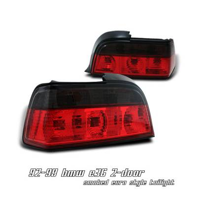 OptionRacing - BMW 3 Series Option Racing Taillight - 21-12111