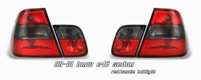 OptionRacing - BMW 3 Series Option Racing Taillight - 21-12127