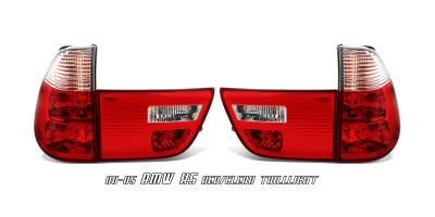 OptionRacing - BMW X5 Option Racing Taillight - 21-12130