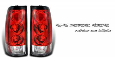 OptionRacing - GMC Sierra Option Racing Taillight - 21-15137