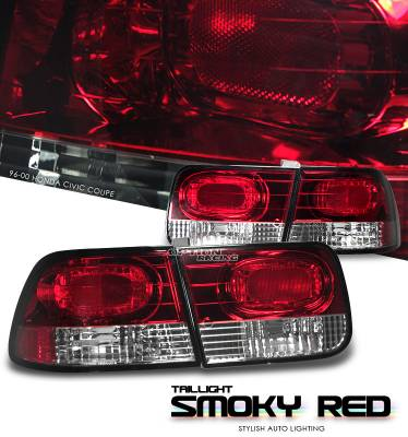 OptionRacing - Honda Civic Option Racing Altezza Taillight - 22-20119