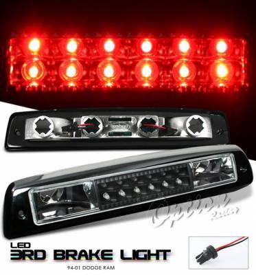 OptionRacing - Dodge Ram Option Racing LED Third Brake Light - Black - 23-17176