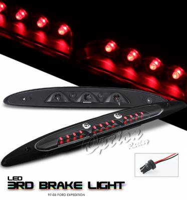 OptionRacing - Ford Expedition Option Racing LED Third Brake Light - Black - 23-18174