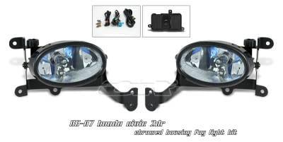 OptionRacing - Honda Civic Option Racing Fog Light Kit - 28-20127