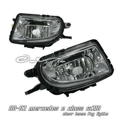 OptionRacing - Mercedes-Benz E Class Option Racing Fog Light Kit - 28-32141
