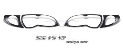 OptionRacing - BMW 3 Series Option Racing Headlight Cover - 73-12101
