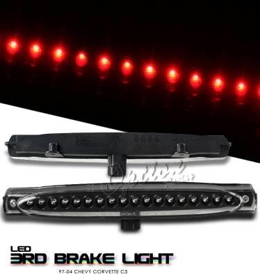 OptionRacing - Chevrolet Corvette Option Racing LED Third Brake Light