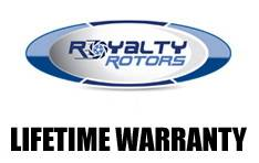 Royalty Rotors - Chevrolet S10 Royalty Rotors Slotted & Cross Drilled Brake Rotors - Front