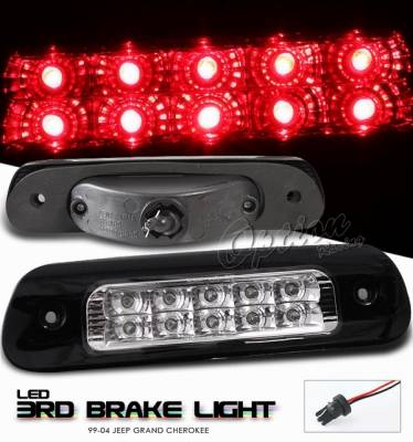 OptionRacing - Jeep Grand Cherokee Option Racing LED Third Brake Light