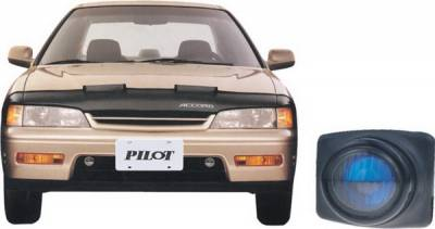 Pilot - Honda Accord 2DR & 4DR Pilot OEM Style Fog Light Kit - Blue - Pair - PL-105B