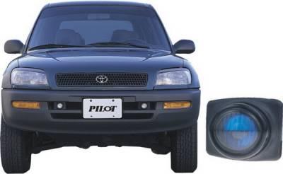 Pilot - Toyota Rav 4 Pilot OEM Style Fog Light Kit - Blue - Pair - PL-109B