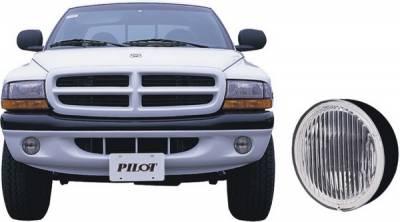Pilot - Dodge Dakota Pilot Custom Fog Light Kit - Clear - Pair - PL-119C