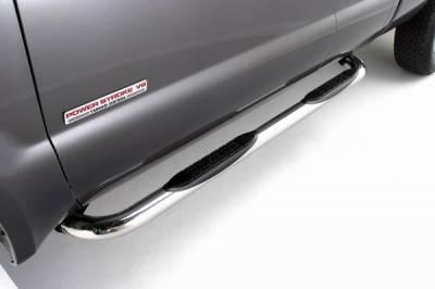 ICI - Chrysler Aspen ICI 3 Inch Cab Length Stainless Nerf Bar - NERF76DGX