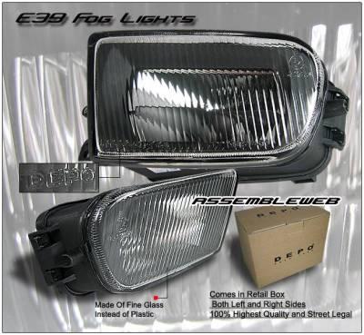 OEM - E39 Fog Lights OEM Style