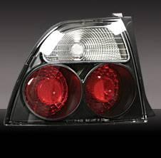 Pilot - Honda Accord 2DR & 4DR Pilot Black Taillight - Pair - TL-101BK