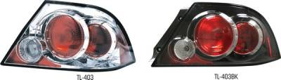 Pilot - Mitsubishi Lancer Pilot Chrome Taillight - Pair - TL-403
