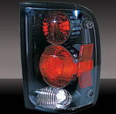 Pilot - Ford Ranger Pilot Black Taillight - Pair - TL-502BK