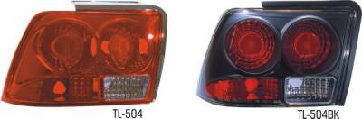 Pilot - Ford Mustang Pilot Chrome Taillight - Pair - TL-504
