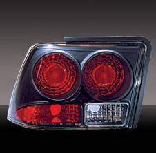 Pilot - Ford Mustang Pilot Black Taillight - Pair - TL-504BK