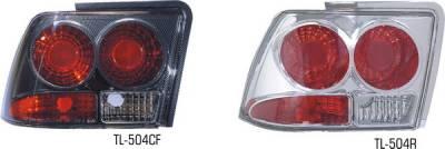 Pilot - Ford Mustang Pilot Carbon Fiber Look Taillight - Pair - TL-504CF