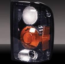 Pilot - Ford Ranger Pilot Black Taillight - Pair - TL-508BK