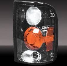 Pilot - Ford Ranger Pilot Carbon Fiber Look Taillight - Pair - TL-508CF