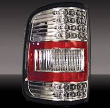 Pilot - Ford F-Series Pilot Chrome Taillight - Pair - TL-514
