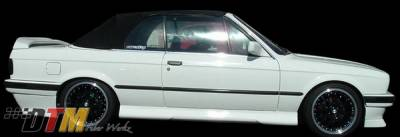 DTM Fiberwerkz - BMW 3 Series DTM Fiberwerkz HM Style Side Skirts - E30-HM-STYLE