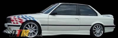 DTM Fiberwerkz - BMW 3 Series DTM Fiberwerkz E36 Style Side Skirts - E30-M3-E36-S