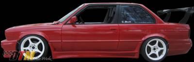 DTM Fiberwerkz - BMW 3 Series DTM Fiberwerkz RG GTS Style Side Skirts - E30-RG-GTS-S