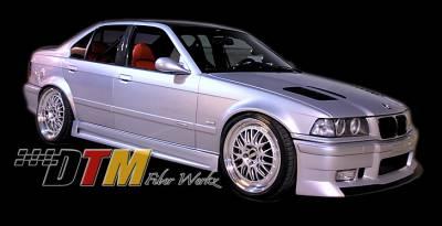 DTM Fiberwerkz - BMW 3 Series DTM Fiberwerkz GTR-S Style Side Skirts - E36GTR-SSide