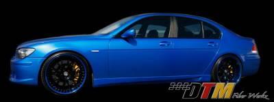 DTM Fiberwerkz - BMW 7 Series DTM Fiberwerkz ACS Style Side Skirts - E6505ACSRear