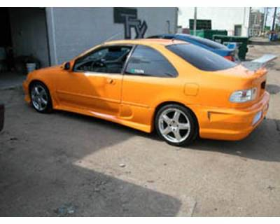 FX Design - Honda Civic FX Design Side Skirts - FX-173