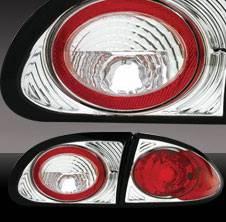 Pilot - Chevrolet Cavalier Pilot Chrome Taillight - Pair - TL-605