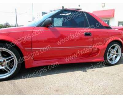 FX Design - Toyota MR2 FX Design Side Skirts - FX-908