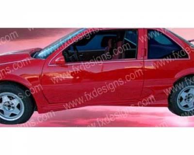 FX Design - Chevrolet Beretta FX Design Side Skirts - FX-938