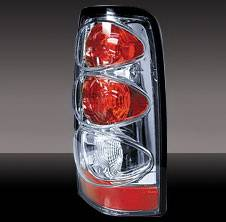 Pilot - Chevrolet Silverado Pilot Chrome Taillight - Pair - TL-608