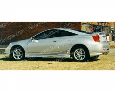 FX Design - Toyota Celica FX Design Side Skirts - FX-972